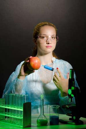adn: Científico modifica el código genético de los alimentos
