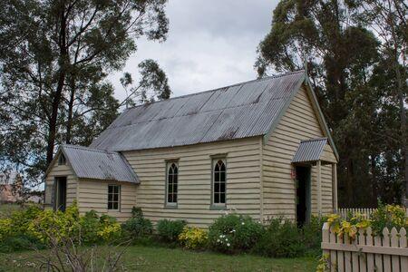Australian old colonial church