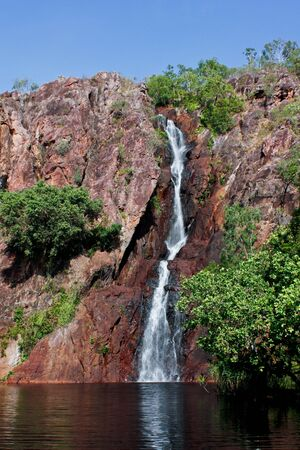 Waterfall in outback Northern Territory, Australia Stock Photo