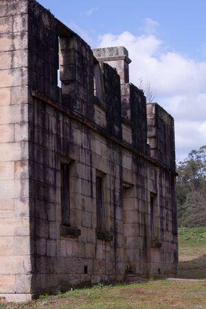 Australian colonial sandstone house Stock Photo - 15209746