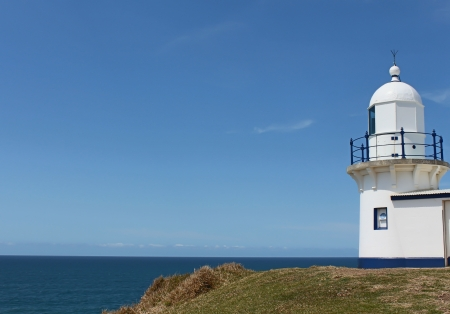 Lighthouse against blue sky at Port Macquarie Australia Stock Photo - 15707634