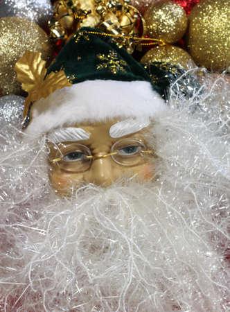 Santa claus christmas decoration Stock Photo - 16544912
