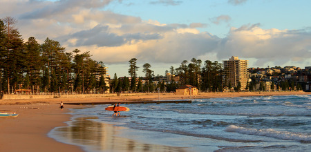 Manly beach Sydney Australia Stock Photo