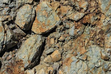 Natural seaside slate rock background