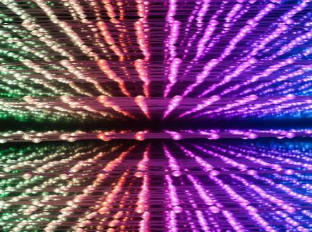 Abstract illuminated light design background Stock Photo