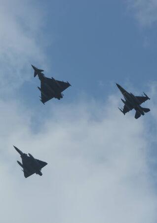 a mirage: Typhoon, Mirage & F16