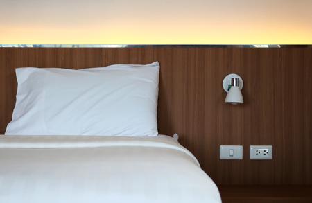 Modern design bedroom interior; Stock Photo