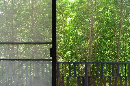 window screen interior