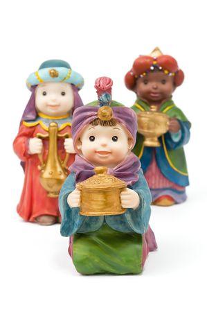reyes magos: Bel�n, los tres hombres sabios y regalos