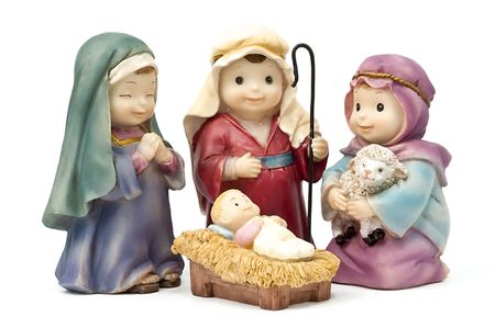 Bethlehem, adoration of the Child Jesus photo