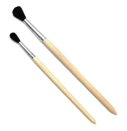 Brushes for drawing  On a white background  Stock Photo - 13805902