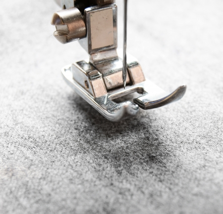 cloth manufacturing: The sewing machine and fabric