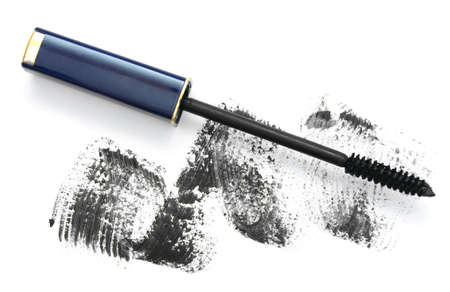 fleecy: Ink for eyelashes  On a white background