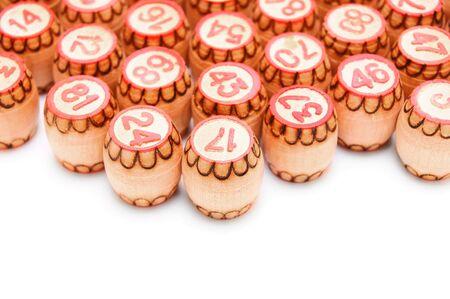 Lotto  On a white background  Stock Photo - 13807139