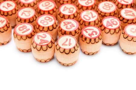 Lotto  On a white background Stock Photo - 13807139