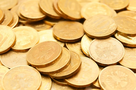 Gold coins . . . photo