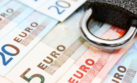 The lock and money . Stock Photo - 14152223
