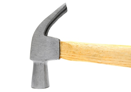 peen: Hammer. On a white background. Stock Photo
