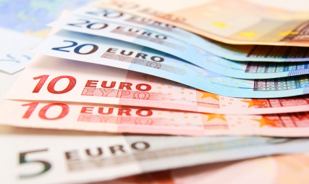 The money . Euro . Stock Photo - 14755272