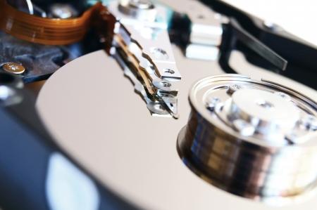 harddisk: The hard drive . .