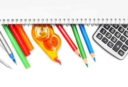 Back to school . School accessories . Stock Photo - 15266440