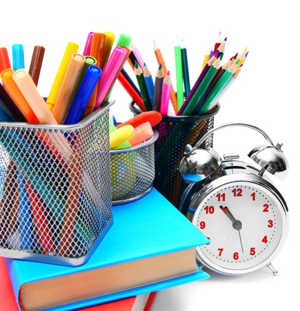 Back to school  School accessories  Stock Photo - 15266736