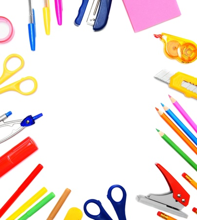 Back to school  To study  School accessories Stock Photo - 15266584