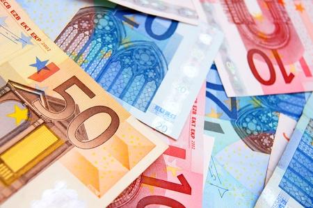 Many Money . A Euro . Stock Photo - 17237080