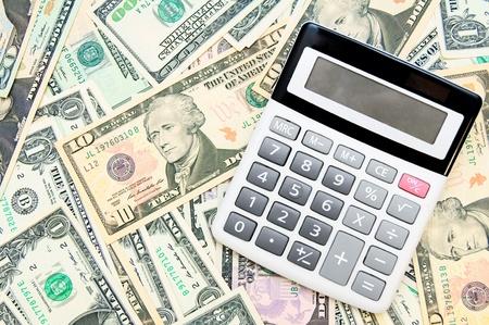The calculator on dollars. Stock Photo - 17237123