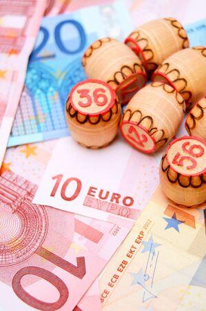 Lottos for euro banknotes. Stock Photo - 17237023