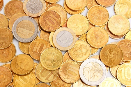 Gold coins. It is a lot of coins. Stock Photo - 17237121