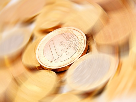 Gold coins Stock Photo - 17217421