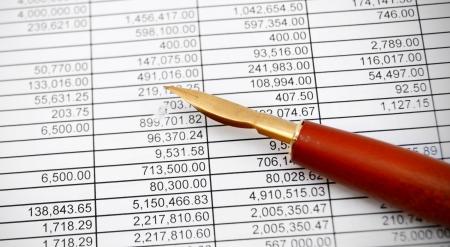 Pen on documents  Stock Photo - 17220544
