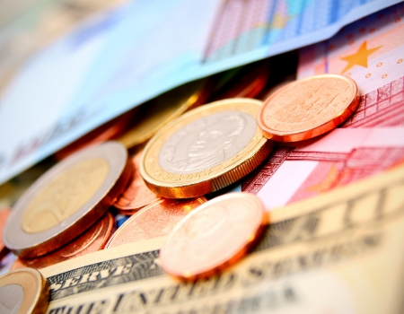 Coins and denominations  photo