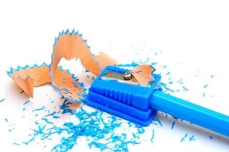 sharpenings: Pencil shaving Stock Photo