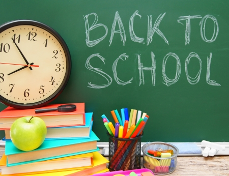 Back to school. School . photo