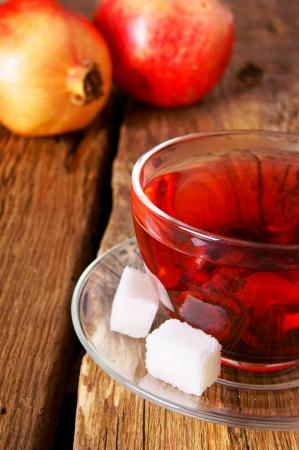 pomegranate tea photo