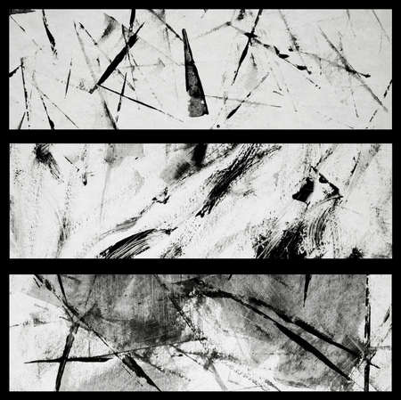 Abstract backgrounds. Set . Abstract banners. photo