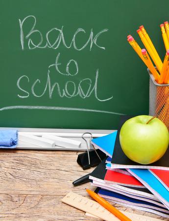 School accessories. Back to school. photo