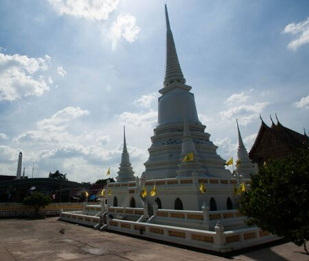 ayutthaya ancient temple photo