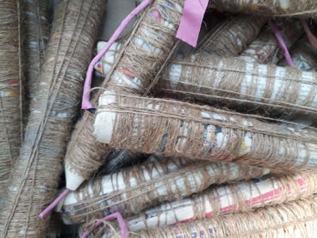 local made cracker bombs for diwali closeup