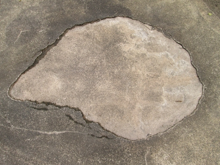 The cement floor photo
