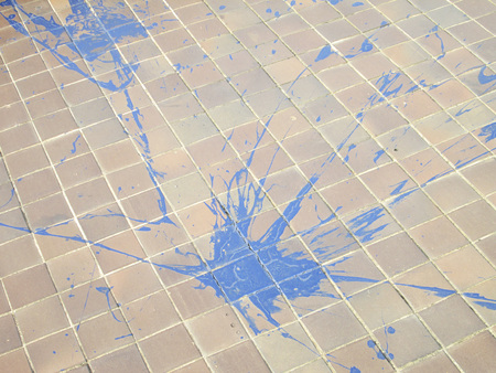 patterned paving tiles photo