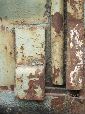 Rust on old iron photo