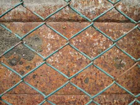 rabitz: background from chapped and cracked metal