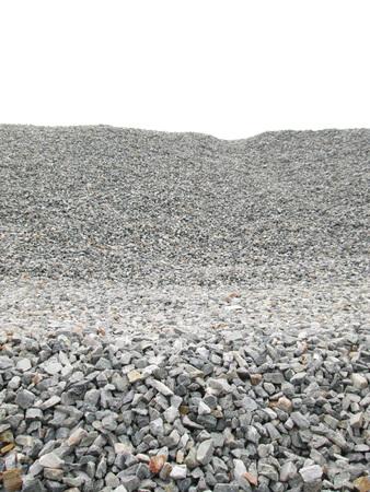 Stones Hintergrund weiß