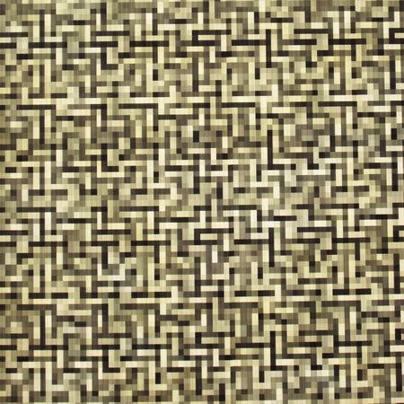 Yellow Pixel pattern photo