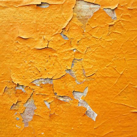 Orange break wall photo