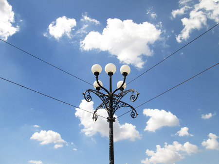 Outdoor lamps photo
