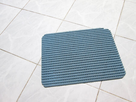 White tile floors photo